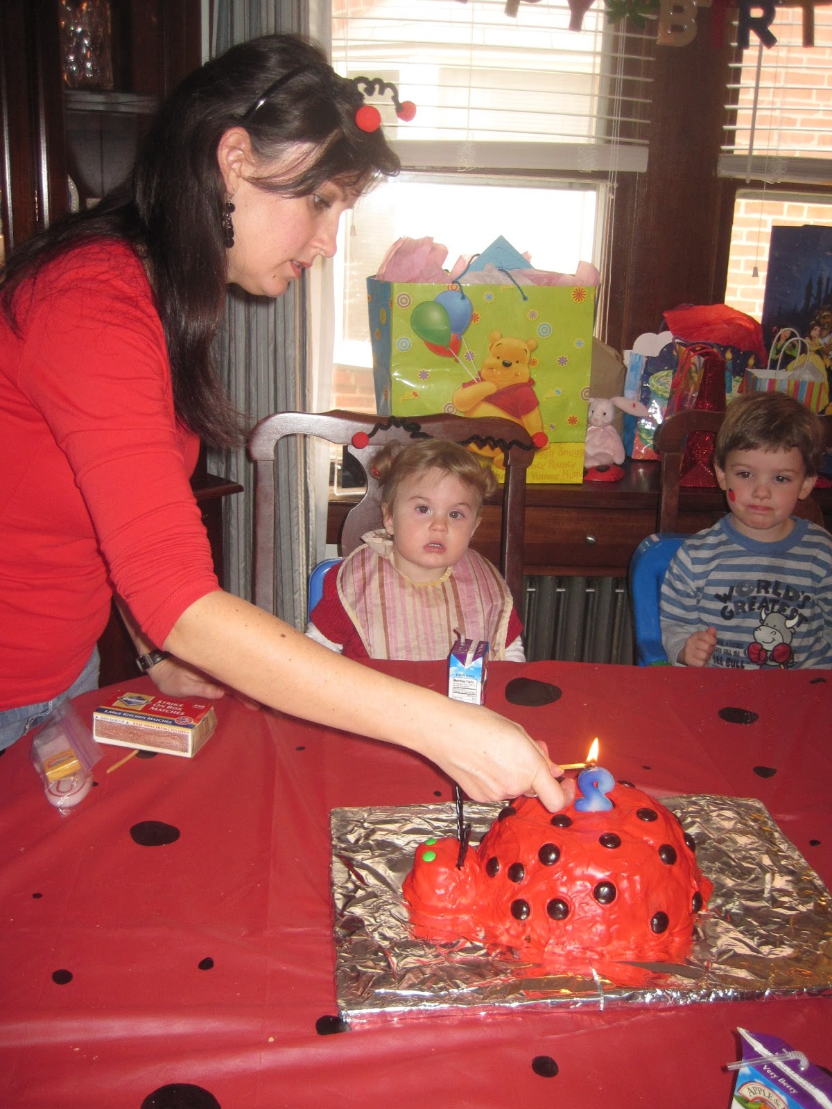 Riggall Family Happenings Abbie S 2 Year Old Ladybug Party