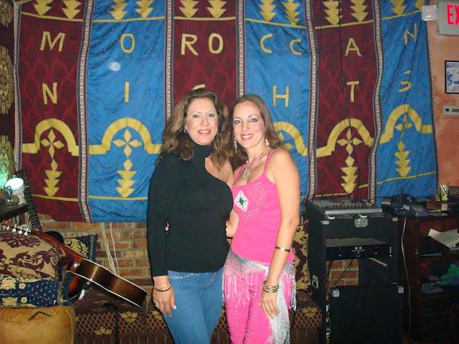 Marta Sonia y Ansuya en Miami- Rest. Morrocan Nights en Miami Beach- Ag.07