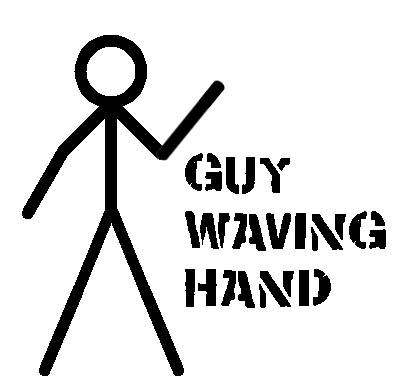 Guy Waving Hand