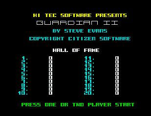 Guardian II - Revenge Of The Mutants