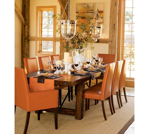 Dining Room Centerpieces: More Shabby Chic Halloween Interior & Decor Ideas