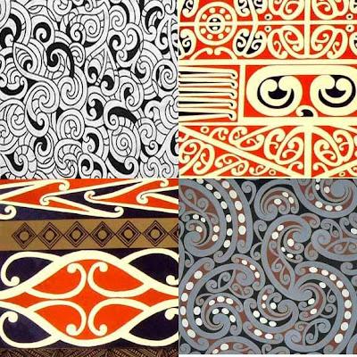 maori designs and patterns. few Maori designs online.
