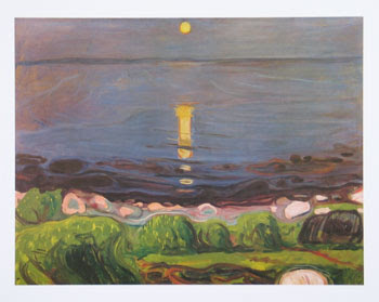 Munch: Summer Night at the Beach