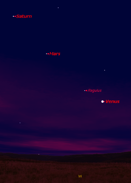 planets in the sky tonight - photo #18