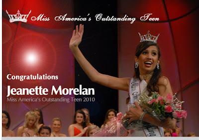 Teen Jeanette Morelan Wins Miss 16