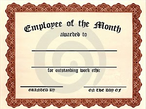 It is high it is far it is caught january 2011 for Employee of the quarter certificate template