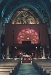 Cordes sur Ciel : Le choeur de l'église Saint Michel