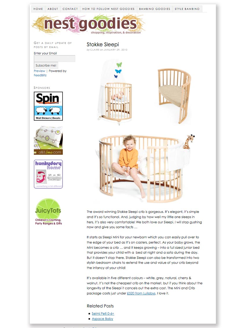 Stokke Sleepi Love Nest Goodies