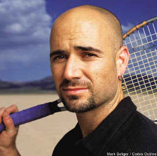 Beautiful The First Bald Guy: The Bald Guy Whom I Liked And Think U0027hotu0027 Is Andre  Agassi! Yes, The Tennis Player! More Than His Tennis, I Like Him For His  Looks!