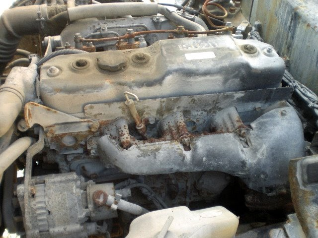Used Japanese Engines >> Japanese Used Engine and Spare Part: 4BE1 ISUZU USED ENGINE FROM JAPAN