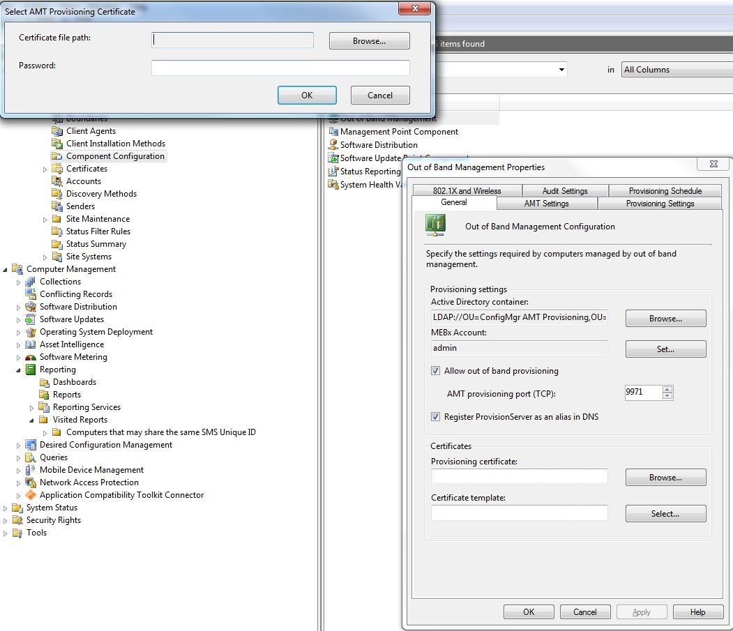 AMT | System Center Configuration Manager