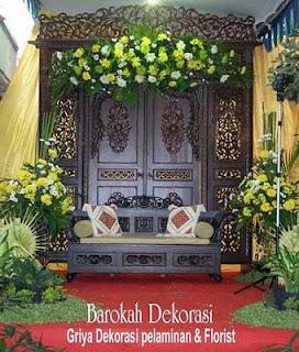 dekorasi pelaminan | rias pengantin | surabaya: dekorasi