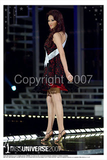Agni in Miss Universe 03