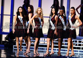 Agni in Miss Universe 01