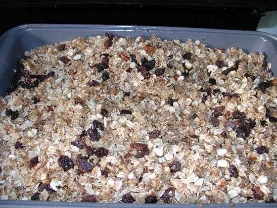 Just One More Paragraph: Homemade Granola