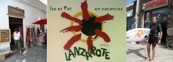 Isa et Pat à Lanzarote