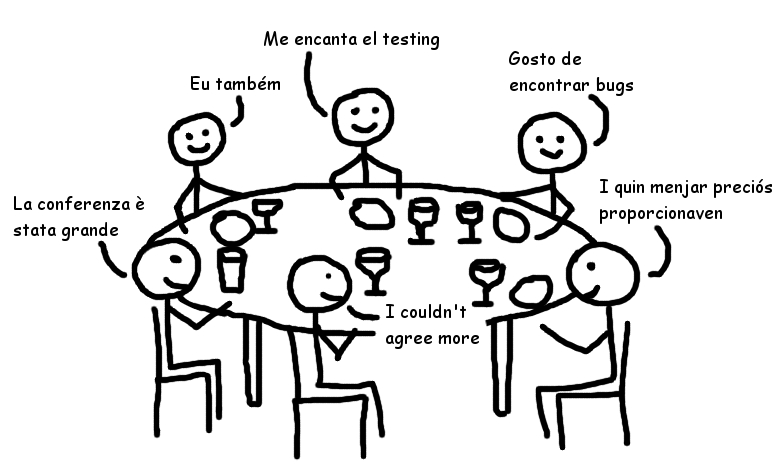 Cartoon Tester: My first day at Expo:QA