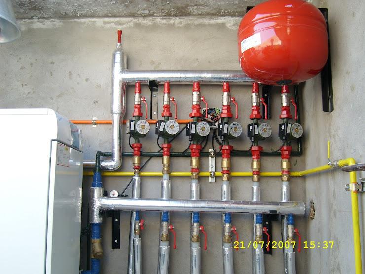 Materco instalaciones calefaccion central caldera a - Instalacion de calefaccion por radiadores ...