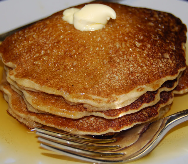Whole-Wheat Pancakes