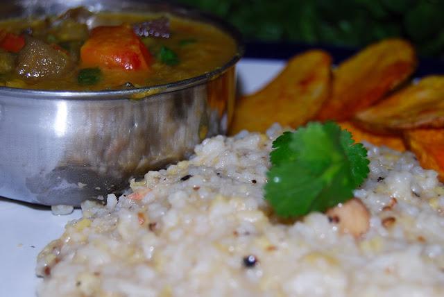 Vegan Venn Pongal