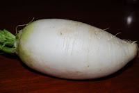 Radish or mooli or molangi