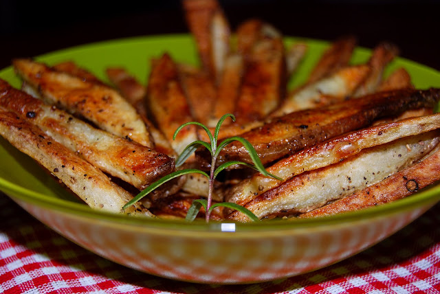 Baked Rosemary French Fries