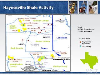 Haynesville Play: The Haynesville Shale Resource: Unit