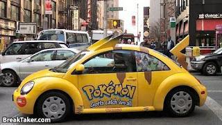 transportes pokemon Carro