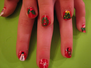 Christmas Nail Art Pictures - 9