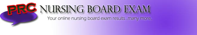 PRC NURSING BOARD EXAM RESULTS