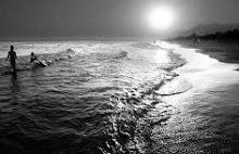 Hermoso Atardecer en la playa