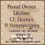 Snappy Scrappy CU  License