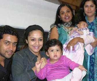 Surya family stills | Surya Jyothika unseen personal images