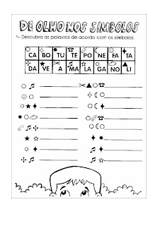Atividades Para Criancas Silabicos Silabicos Alfabeticos