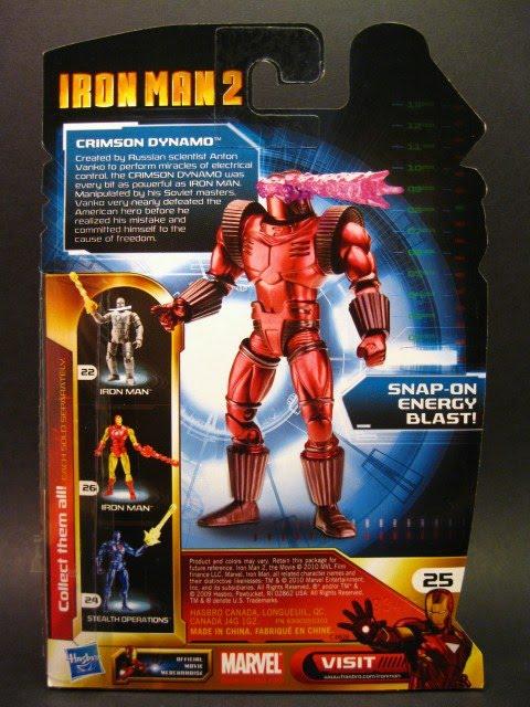 Iron Man Crimson Dynamo
