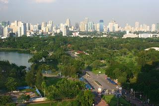 Lumpini Park in the Heart of Bangkok