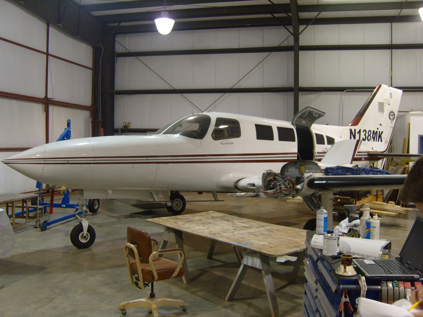 Beckwith's Big Adventure: Cessna 402 Project