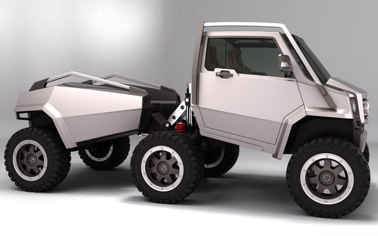 cars info vexing hex iranian designer pens 6 wheel mercedes benz off roader. Black Bedroom Furniture Sets. Home Design Ideas