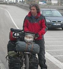 La vuelta al mundo en bicicleta: Biciclown, un viajero fuera de lo común