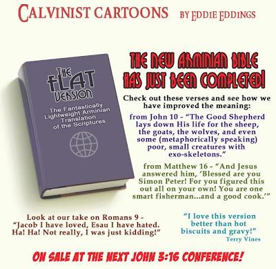 Calvinistic Cartoons: New Arminian Bible