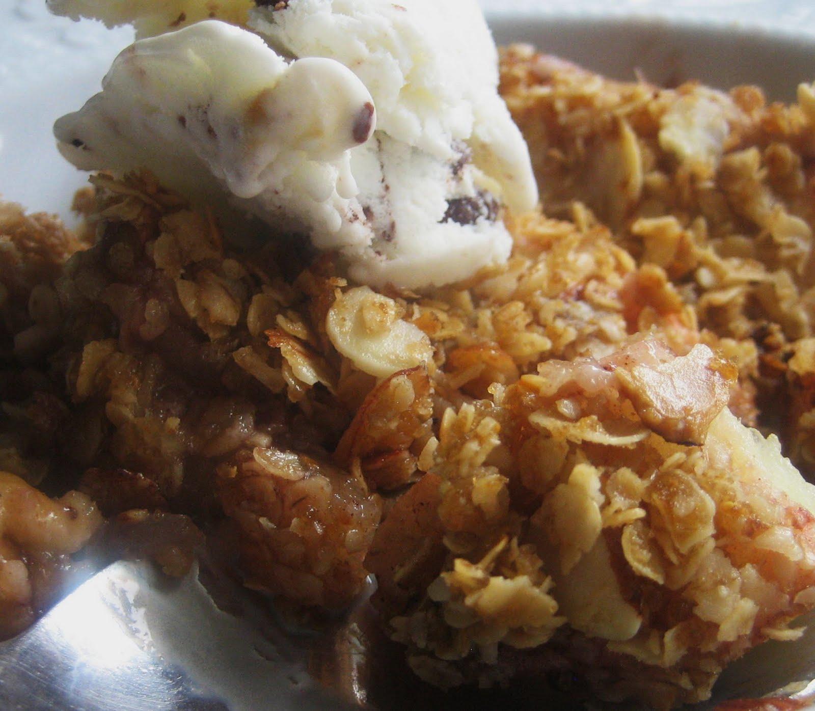 Chef Tess Bakeresse Nutmeg Ginger Apple Snap Crisp Mix