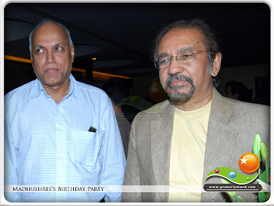 Manmohan Shetty & Govind Swaroop at singer Madhushree's birthday at D Ultimate Club in Andheri, Bombay