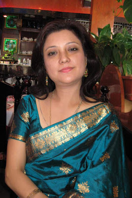 Assamese actress Bobbeeta Sharma of Bideshat Apun Manuh fame