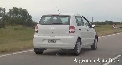 VW Fox camuflado en Argentina 2