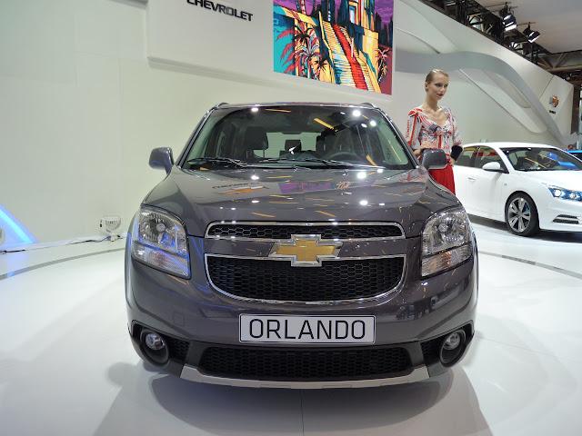 Salón de París 2010: Chevrolet Orlando 3