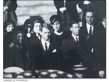 [Robert+Kennedy+and+Jacqueline+Kennedy+grieve+during+President+John+F.+Kennedy]