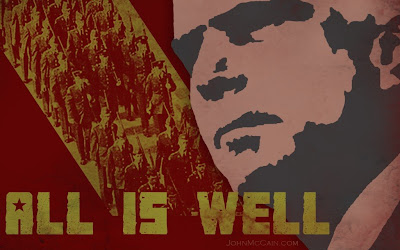 All Is Well poster by Alvin Blair