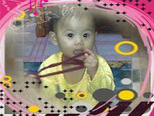 Munifah mula berjalan ketika usianya genap 10 bulan