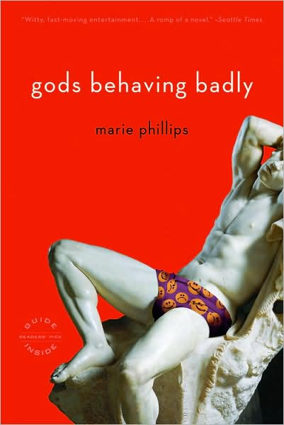 Review: Gods Behaving Badly, by Marie Phillips
