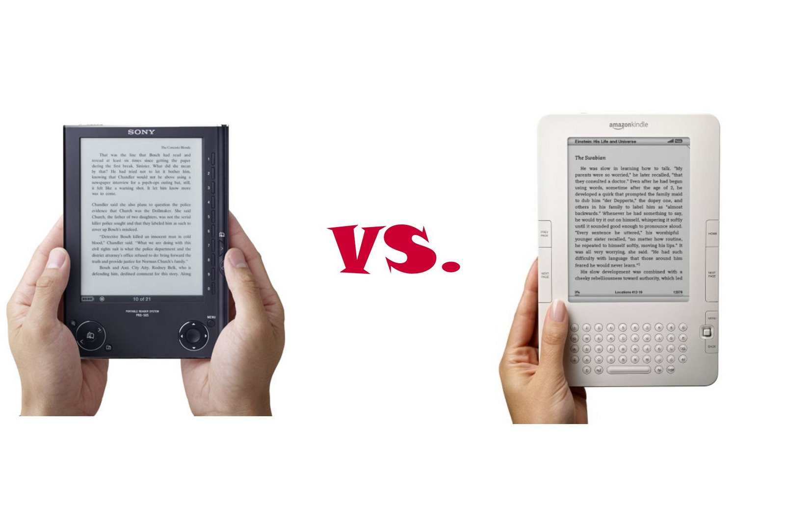Kindle vs. Sony Reader--Your Thoughts?